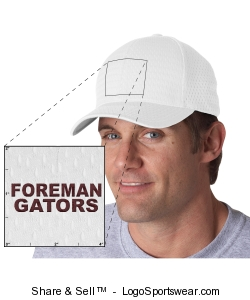 Foreman Gators Cap Design Zoom